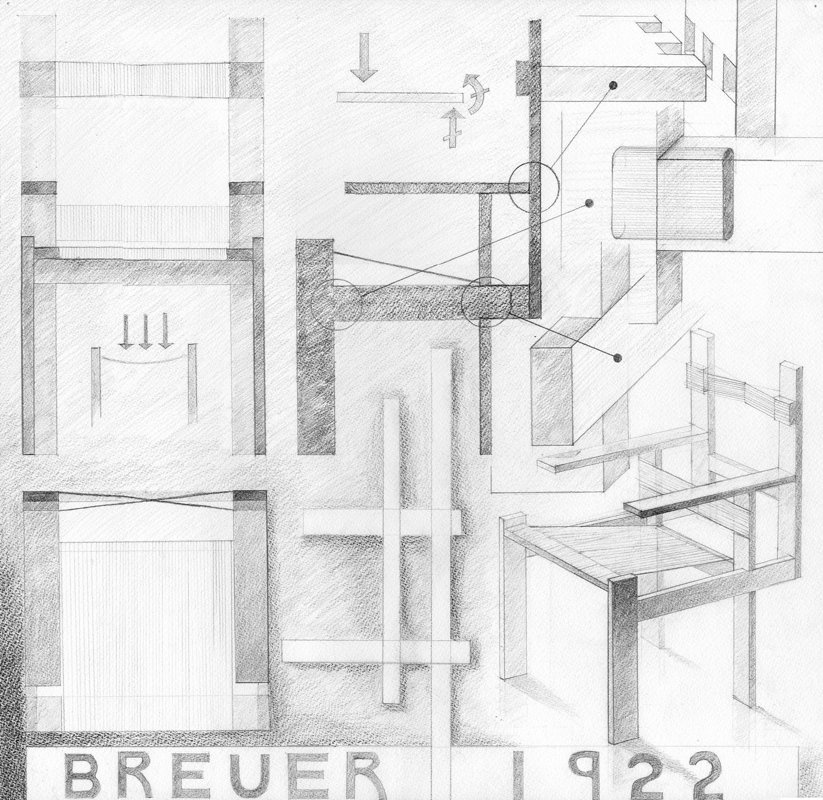 Marcel Breuer Cesca Chair With Armrests Wood Frame Beach Chairs Mēbeļu Vēsture - Izcilākie Meistari: Marsels Breiers