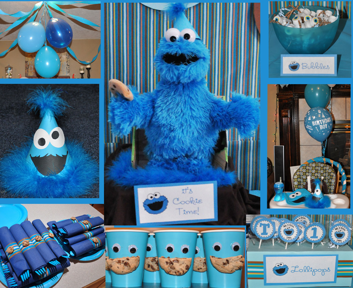 Cookie Monster Birthday Party Ideas Cookie Monster Birthday
