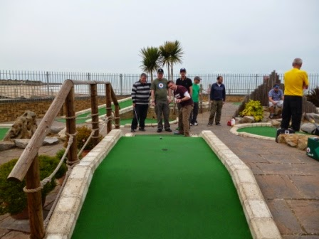 Strokes Adventure Golf in Margate, Kent