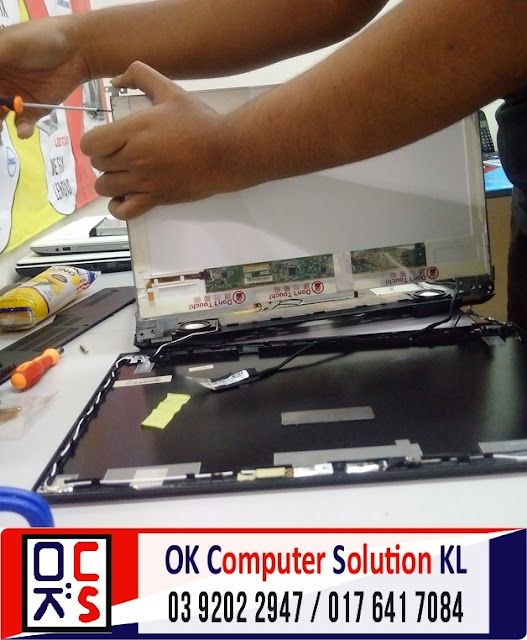 [SOLVED] SKRIN LAPTOP ASUS N56VZ | REPAIR LAPTOP DESA PANDAN 3