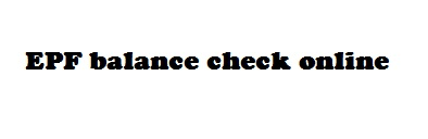 know your epf balance check miss call