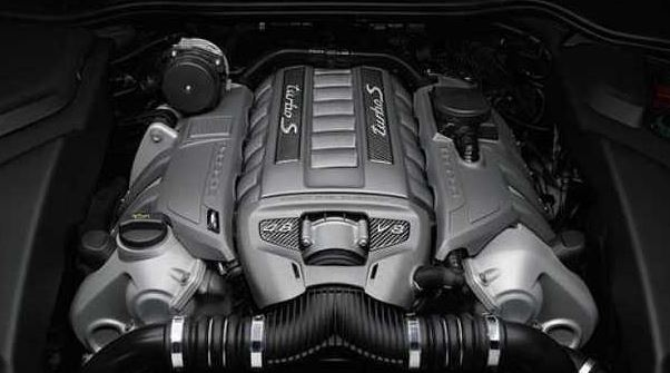 2017 Porsche Cayenne Engine