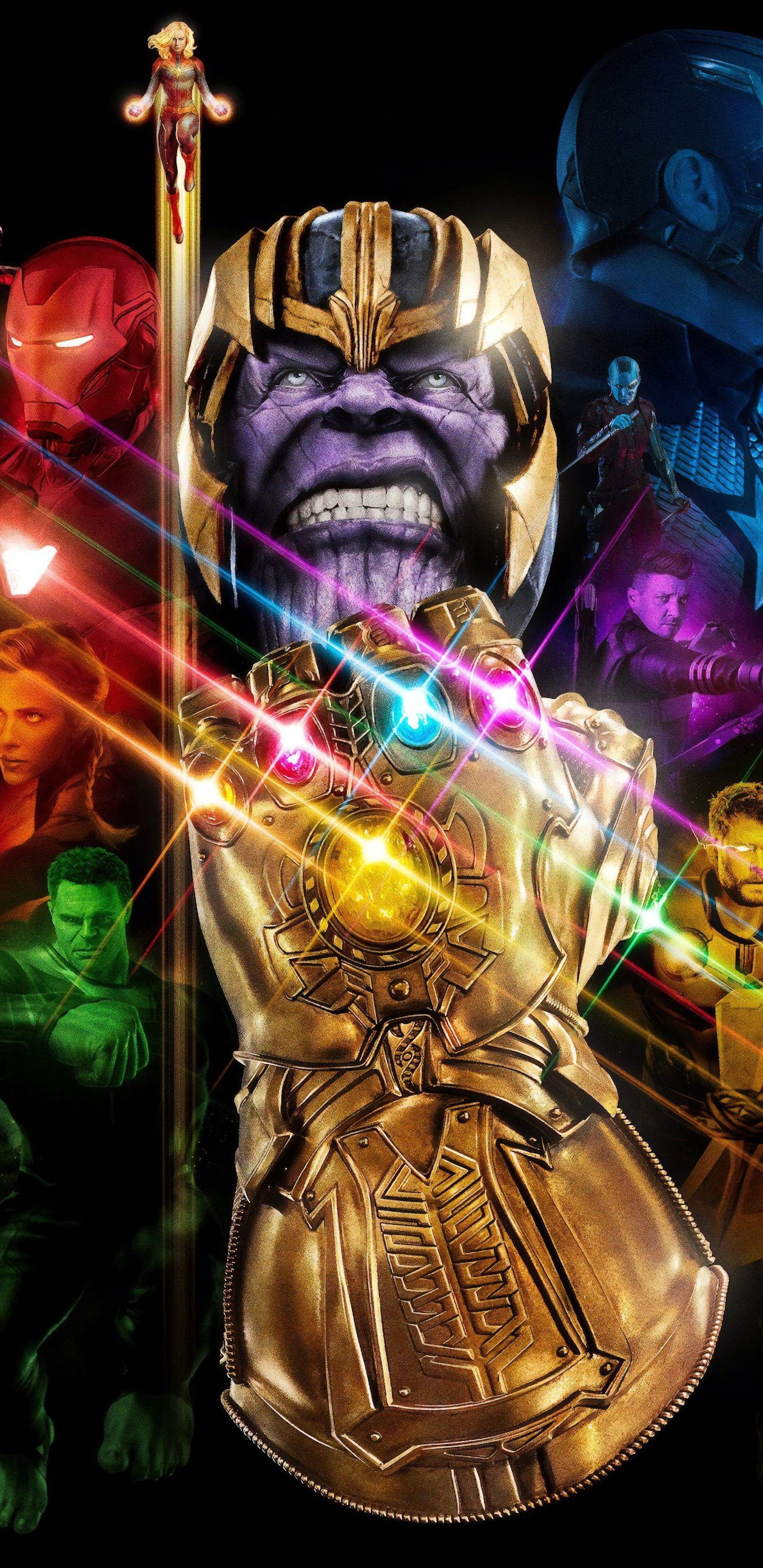 Avengers: Endgame Thanos Infinity Gauntlet 4K Wallpaper #142
