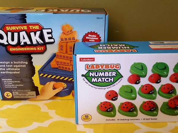 Get Your Kids Ready to Head Back to Class with Educational Games from Lakeshore Learning + #Giveaway