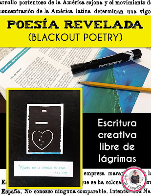 https://www.teacherspayteachers.com/Product/Poesia-Revelada-Spanish-Blackout-Poetry-Presentation-Handouts-and-Rubric-4213132?utm_source=La%20Misi%20de%20Espa%C3%B1ol%20Blog&utm_campaign=Blackout%20Poetry%20Post