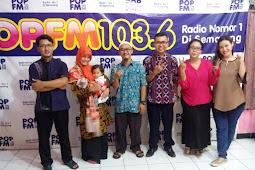 Pengalaman Siaran Radio Live di Pop FM Semarang