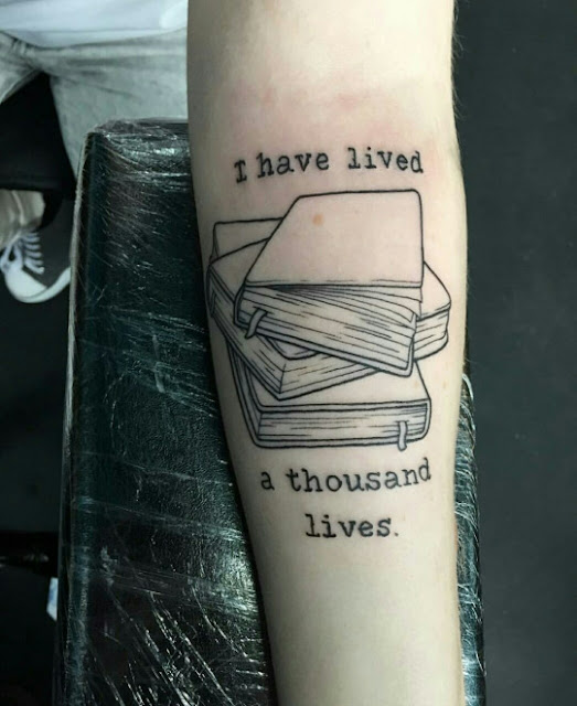 Book Quote Tattoos