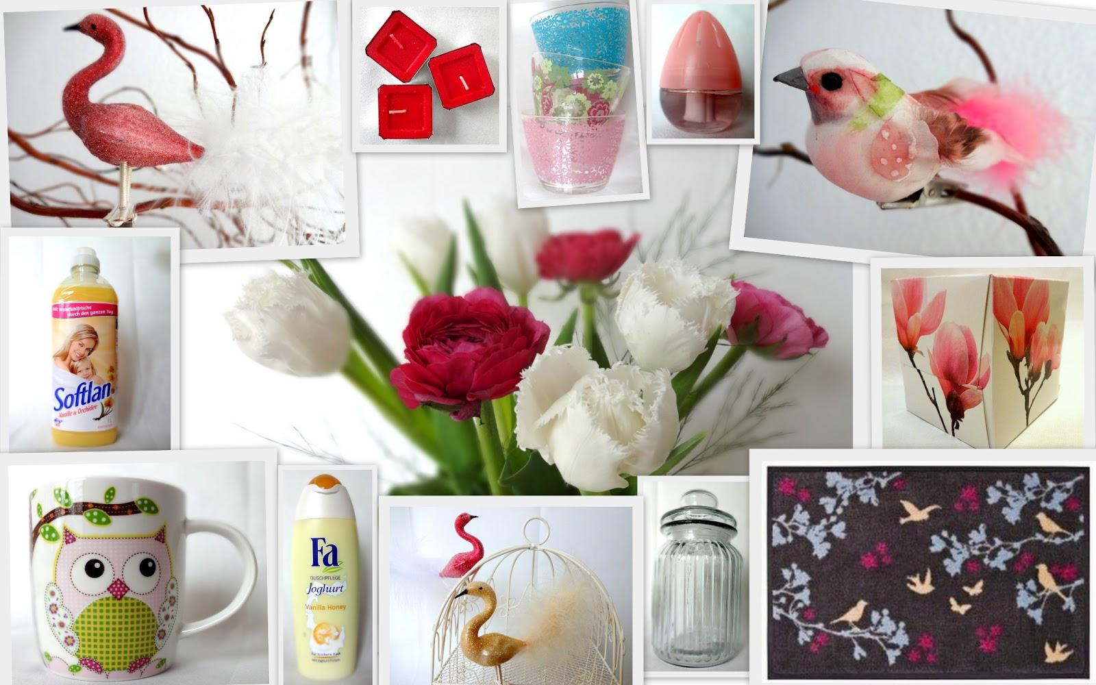 Frühlingsprodukte für zuhause