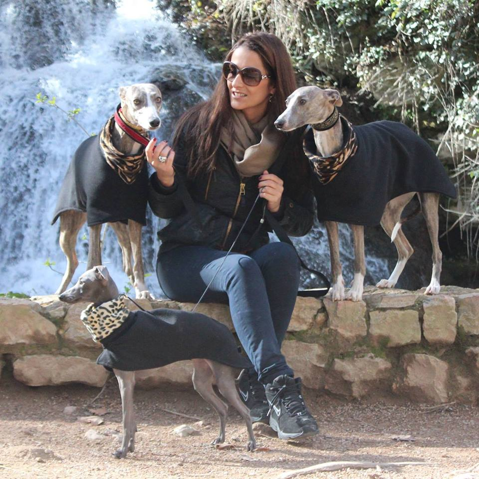 Hounds Deluxe - Luxury vests and coats for Whippets and Italian greyhounds