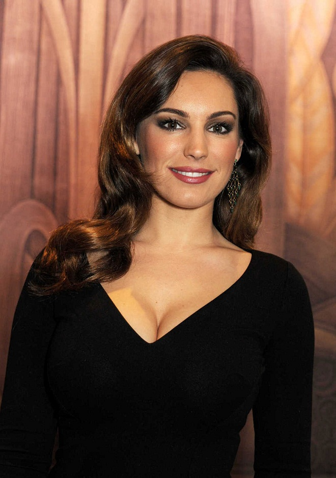 Are Kelly brook black lingerie think, what