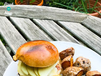 Low Syn Pork and Apple Burgers