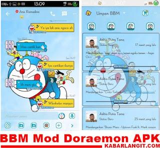 BBM Doraemon V2.9.0.51 Apk