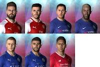 Repack Facepack Premier League 17/18 - PES 2017