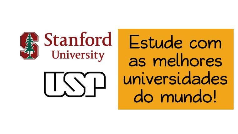 Plataforma oferece cursos das melhores universidades internacionais gratuitamente