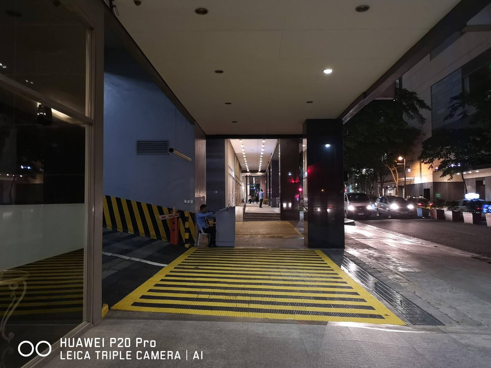 Huawei P20 Pro Low Light Camera Shot