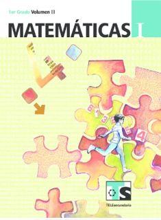 Libro de TelesecundariaMatemáticasIPrimer gradoVolumen IILibro para el Alumno2016-2017