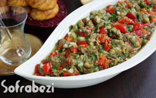 Koz Patlican Biber Salatasi