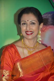 Actress Gauthami Pictures in Saree at Namadhu Movie Press Meet  0003