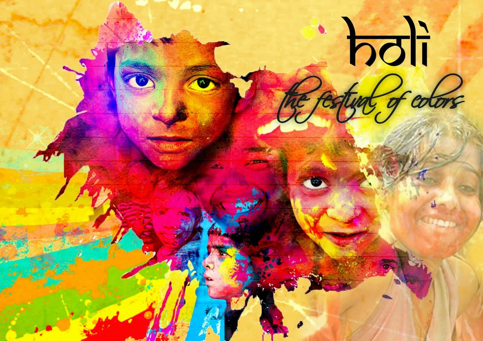 Holi Wishes Images 2018