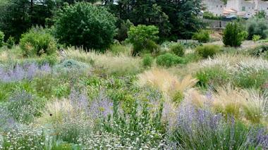 Jardines naturalistas en clima mediterráneo. Le Jardin Champêtre