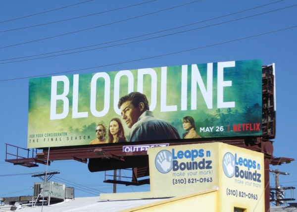Bloodline final season 3 billboard