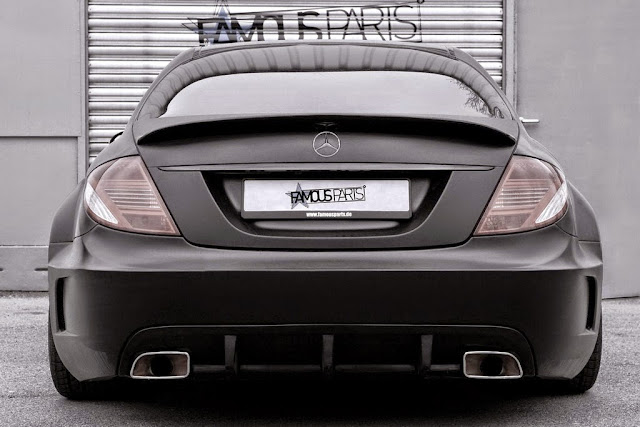 mercedes cl 216 body kit