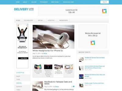 Contoh Tampilan Website WordPress
