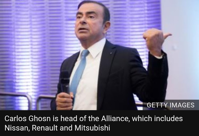 Nissan plans to fire Carlos Ghosn over 'misconduct'