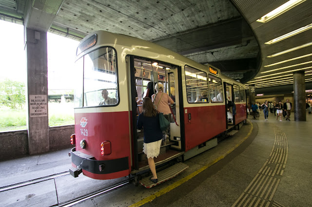 Tram per Grinzing