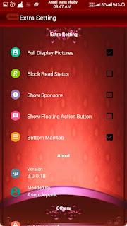 BBM Mod Red Angelic V3.0.0.18