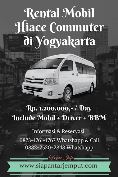 Rental Hiace Jogja || Sewa Hiace Murah di Yogyakarta