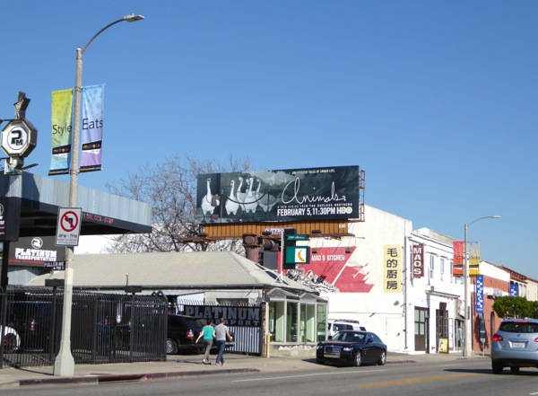 Animals HBO series billboard