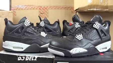 size 40 0c2ec 688af 1999 VS 2015 Air Jordan Oreo 4 Sneaker With Dj Delz (Video)
