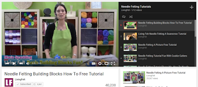 Living Felt YouTube Channel of Feltmaking Tutorial Videos