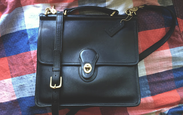 Black Willis Coach Purse | How to Buy & Care for a Classic Coach Purse