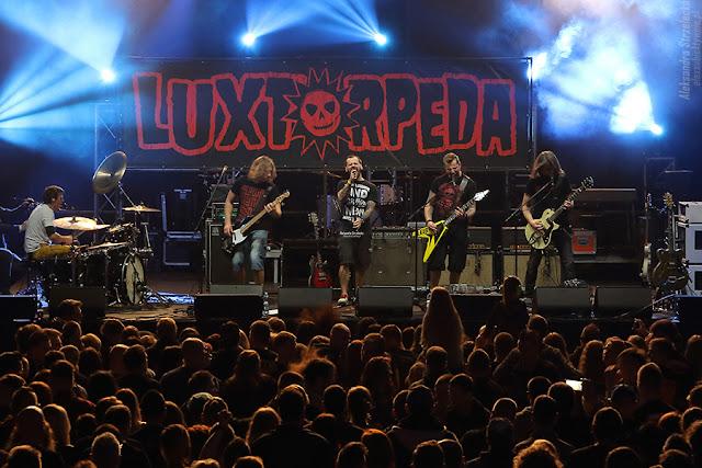 Luxtorpera - koncert Rock Fest - Relacja, zdjęcia, reportaż