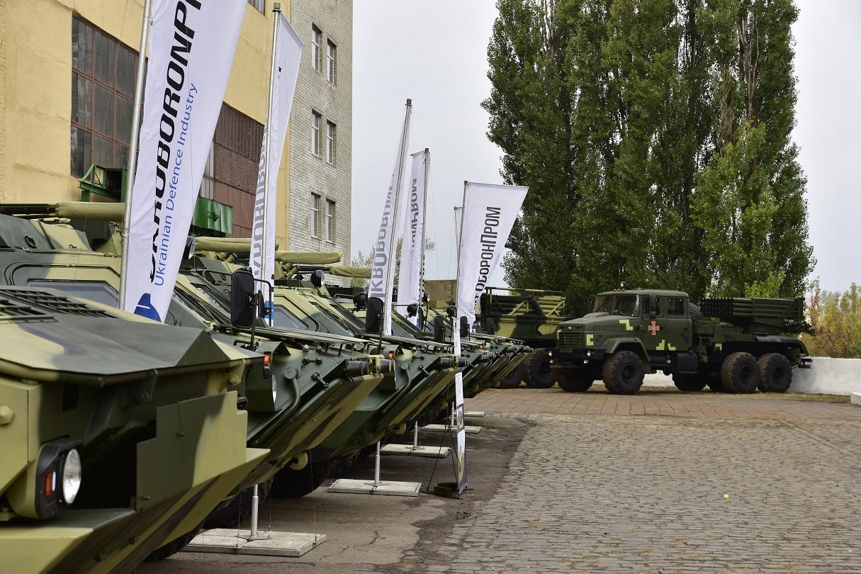 «Укроборонпром» передав армії 16 танків і 5 БТР-4