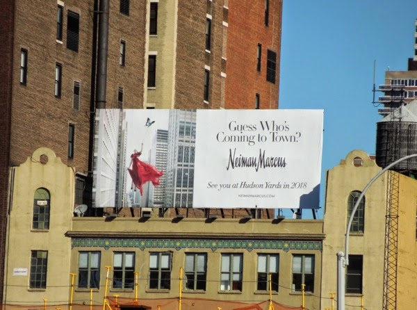 Guess who's coming to town Neiman Marcus billboard