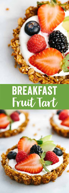 Breakfast Fruit Tart