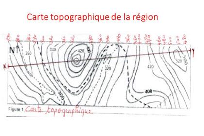 La Carte Topographique Exercices
