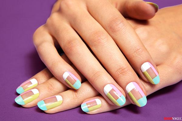 paso a paso como decorar uñas cortas