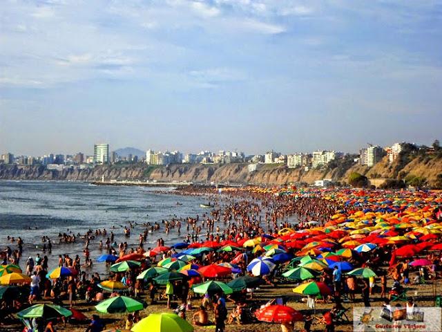 Costa Verde en Chorrillos Lima