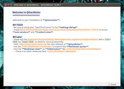 QOwnNotes Ubuntu