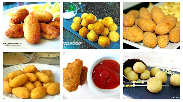 6 recetas de croquetas variadas