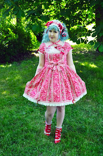 mintyfrills kawaii sweet lolita picnic old school cute