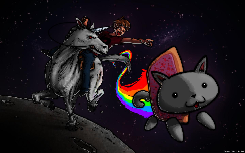 Nyan Cat et Unicorn