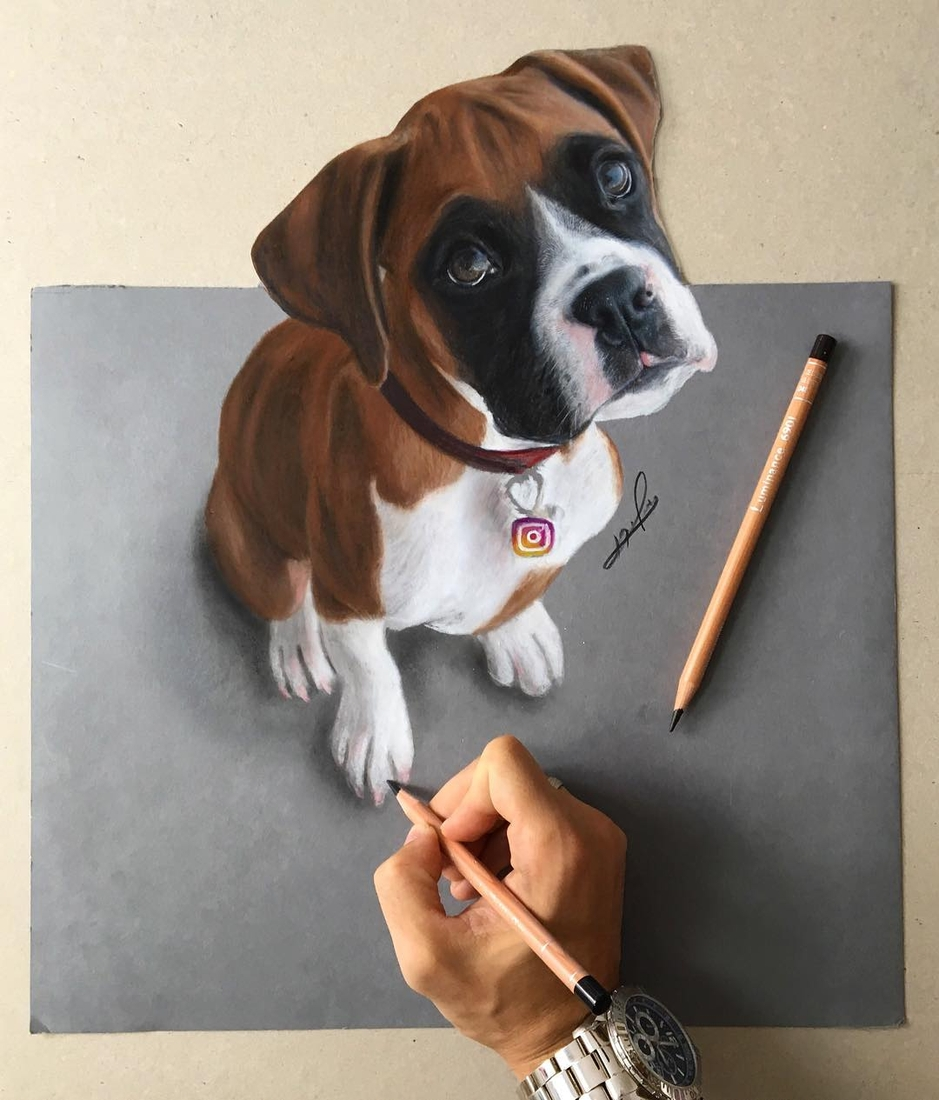 10-Liran-Vardiel-Animal-Drawings-using-Colored-Pencils-www-designstack-co