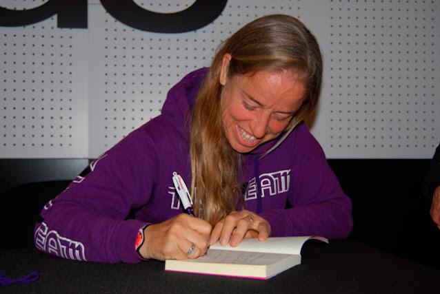 La escritora Eva Sandoval