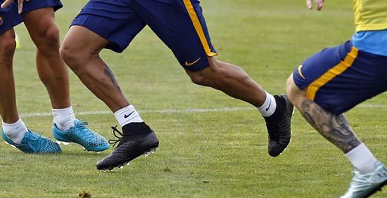 c4a300437 ... Nike Football Boots in Barça s training session on August 3