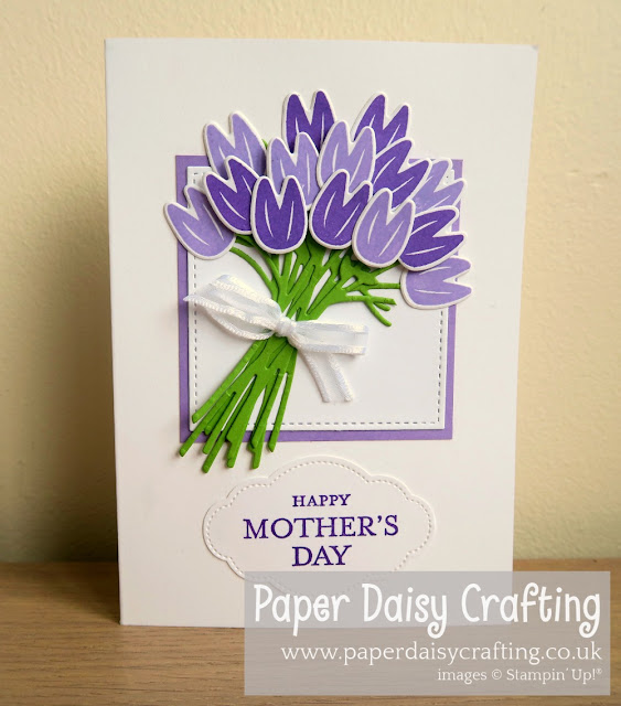 Beautiful Bouquet tulip bouquet Stampin Up